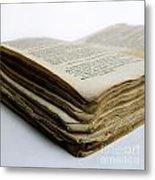 Old Book Metal Print