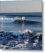Surfers Make The Ocean Better Series Metal Print