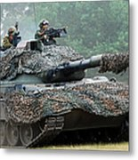 The Leopard 1a5 Main Battle Tank Metal Print