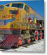 100 Years Of Union Pacific Railroading Metal Print