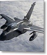 A Luftwaffe Tornado Ids Over Northern Metal Print