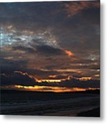 Bournemouth Sunset Metal Print
