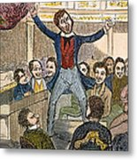 Davy Crockett (1786-1836) Metal Print