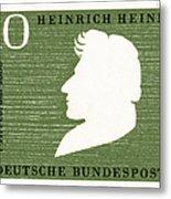 Heinrich Heine (1797-1856) Metal Print