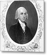 James Madison (1751-1836) Metal Print