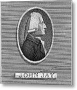 John Jay (1745-1829) Metal Print