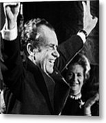 Richard Nixon (1913-1994) Metal Print
