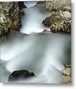 The Soteska Vintgar Gorge Metal Print