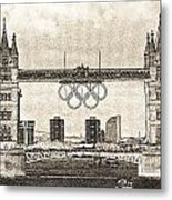 Tower Bridge Art Metal Print