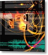 Voice Recognition Metal Print by Mehau Kulyk