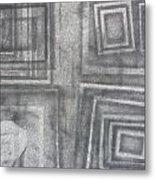 110166 Metal Print