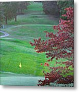 11th Hole At Clarksville C C Metal Print