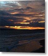 Bournemouth Sunset Metal Print