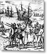 Christopher Columbus Metal Print by Granger