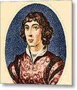 Nicolaus Copernicus, Polish Astronomer Metal Print
