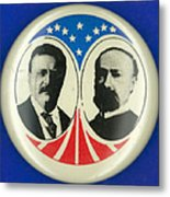 Presidential Campaign: 1904 Metal Print