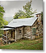 1209-1144 Historic Villines Homestead Metal Print by Randy Forrester