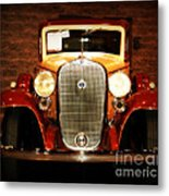12v Collector Car Metal Print by Susanne Van Hulst