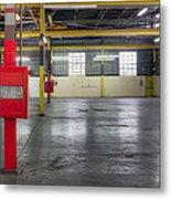 An Empty Industrial Building In Los Metal Print by Dan Kaufman