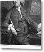 Benjamin Franklin (1706-1790) Metal Print