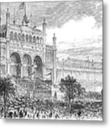 Centennial Fair, 1876 Metal Print