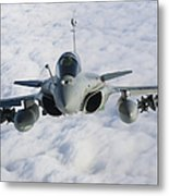 Dassault Rafale B Of The French Air Metal Print