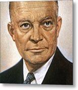 Dwight D. Eisenhower Metal Print