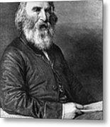 Henry Wadsworth Longfellow Metal Print