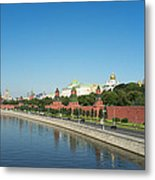 Moscow Kremlin Metal Print