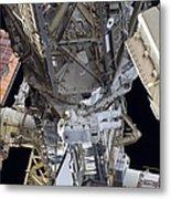 Astronaut Participates Metal Print
