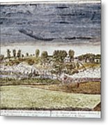 Battle Of Concord, 1775 Metal Print