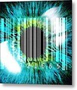 Biometric Eye Scan Metal Print