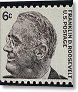 Franklin Delano Roosevelt Metal Print