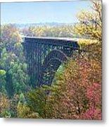 New River Gorge Bridge Metal Print