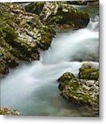 The Soteska Vintgar Gorge Metal Print