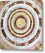 14th Century Theological Cosmography Metal Print by Sheila Terry