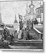 Peter I (1672-1725) Metal Print by Granger