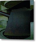 15cm German Naval Gun Metal Print