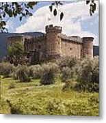 15th Century Castle Of The Duke Of Metal Print