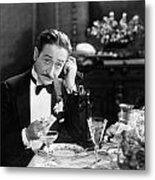 Film Still: Telephones Metal Print