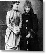 Sarah Bernhardt (1844-1923) Metal Print