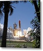 Sts-121 Launch Metal Print