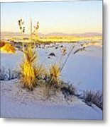 White Sands Metal Print