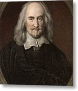 1660 Thomas Hobbes English Philosopher Metal Print