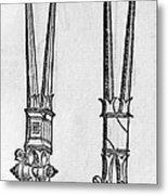 16th Century Forceps Metal Print