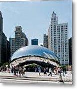 Chicago City Scenes Metal Print