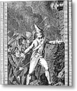 French Revolution, 1789 Metal Print
