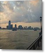 View From Battery Park City Metal Print