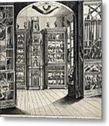 1788 Richard Greene's Museum At Lichfield Metal Print