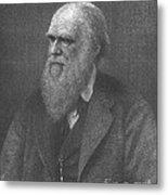Charles Robert Darwin, English Metal Print